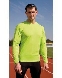 T-Shirts Sport Performance lange mouw, Spiro Heren